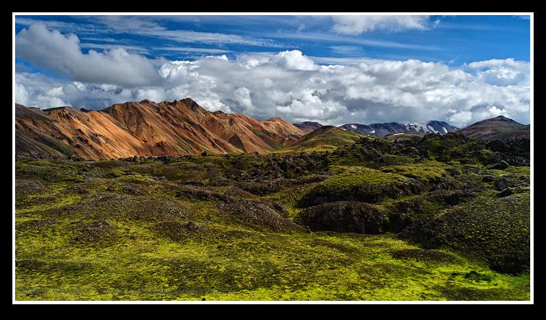 Landmannalaugar, The rhodolite mountains, iceland